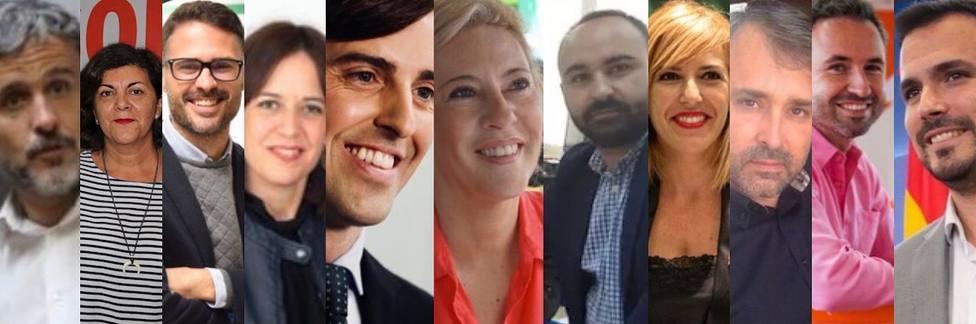 Estos son los políticos que van a representar a Málaga en el Congreso