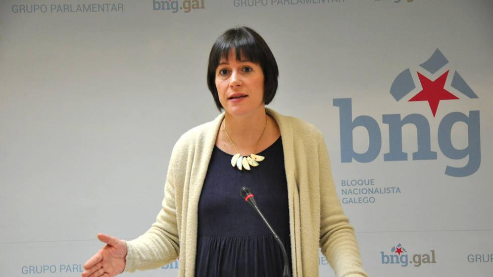 Ana Pontón ingresa en el Hospital Clínico de Santiago para dar a luz