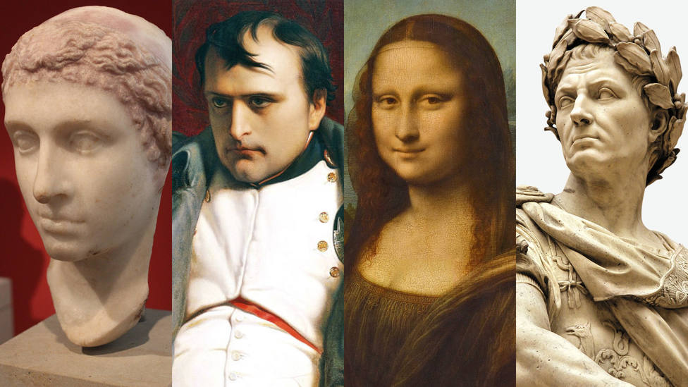 ¿Cómo serían Cleopatra, Napoleón, La Mona Lisa o Julio César en el siglo XXI?