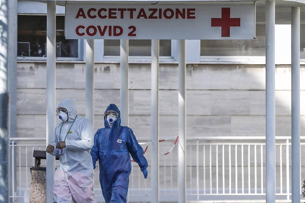 Italia supera los 17.000 muertos y suma 604 fallecidos más en un día