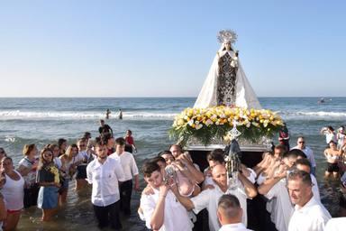 La Virgen del Carmen, Patrona del mar