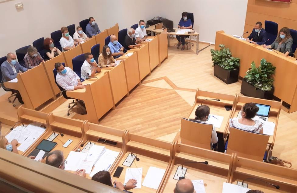 La aprobación de la adjudicación resultó por mayoría absoluta - FOTO: Concello de Narón