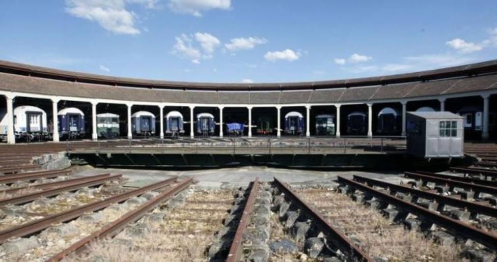 Rotonda ferroviaria de Monforte de Lemos