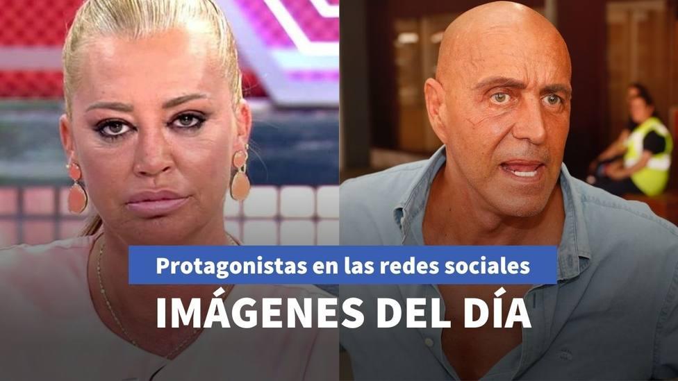 Imágenes del día: Belén Esteban comparte sus vacaciones y Kiko Mamatoros reaparece con una imagen preocupante