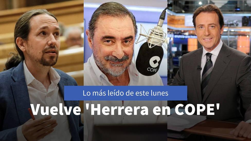 La radiografía de Herrera al Gobierno que está por venir, entre lo más leído del lunes