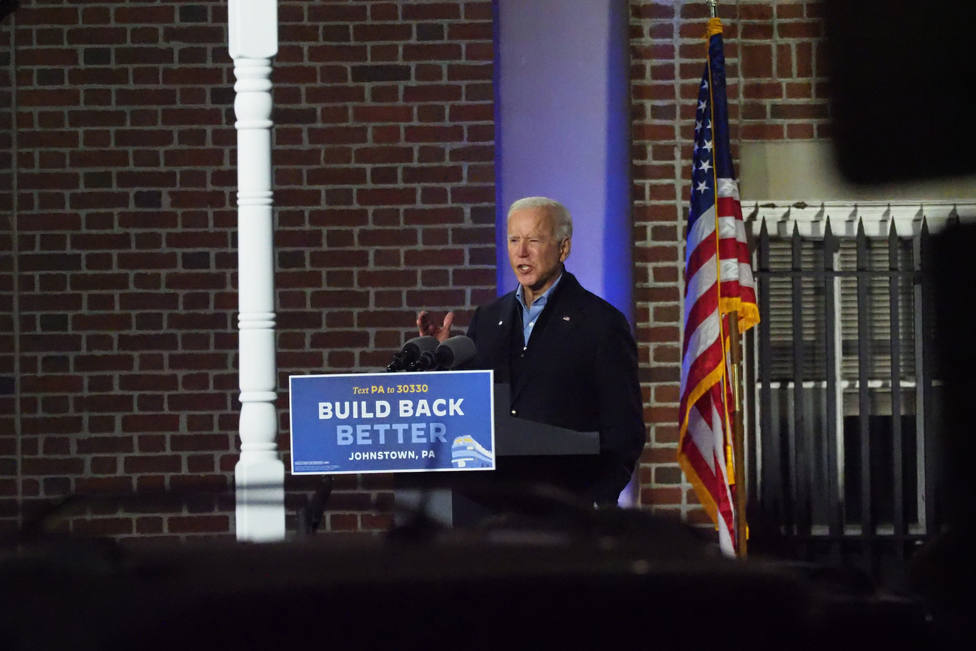 Biden train campaign tour arrives in Pennsylvania