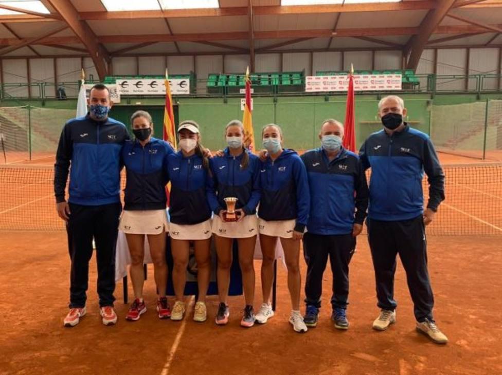 El Real Murcia Club de Tenis 1919 logra un histórico ascenso a Primera División femenina