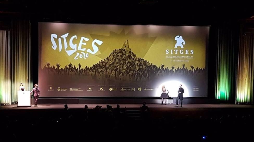 Acto de inauguración del Festival de Sitges 2020