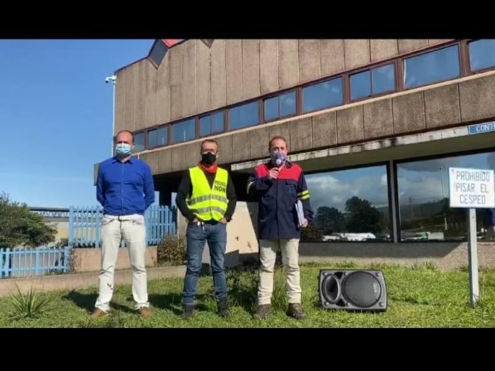 La plantilla de Alcoa pide la intervención de la fábrica y los sindicatos medidas cautelarísimas