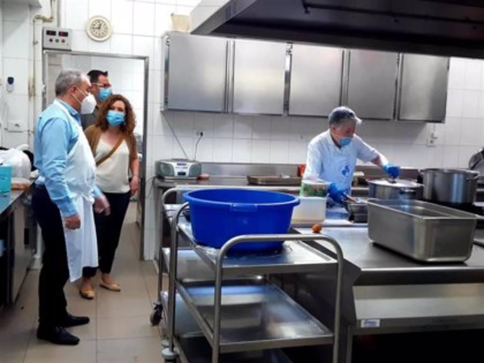 El comedor social de la Cocina Económica reabrirá sus puertas el 15 de octubre