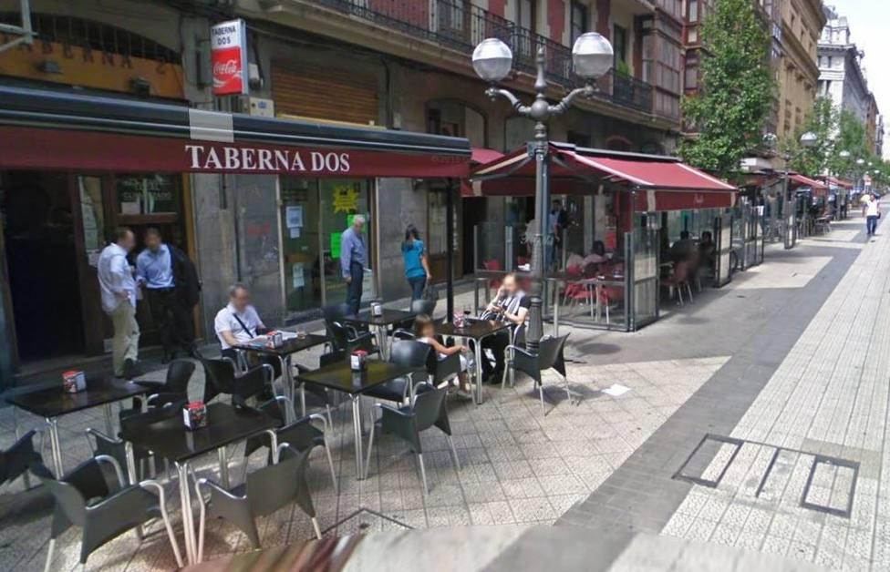 varios bares en Bilbao