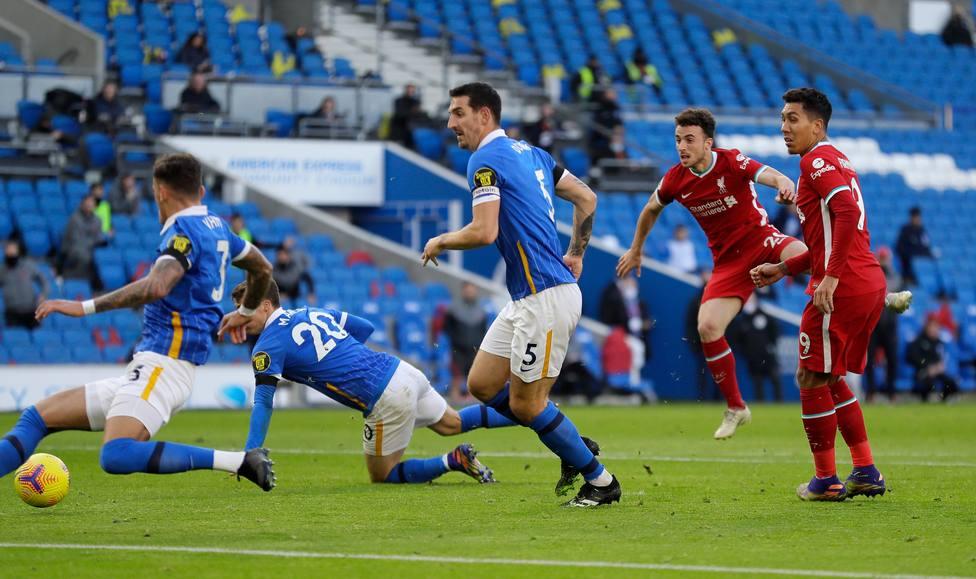 El Liverpool tropieza con el Brighton; el Newcastle se impone sobre la bocina en casa del Crystal Palace