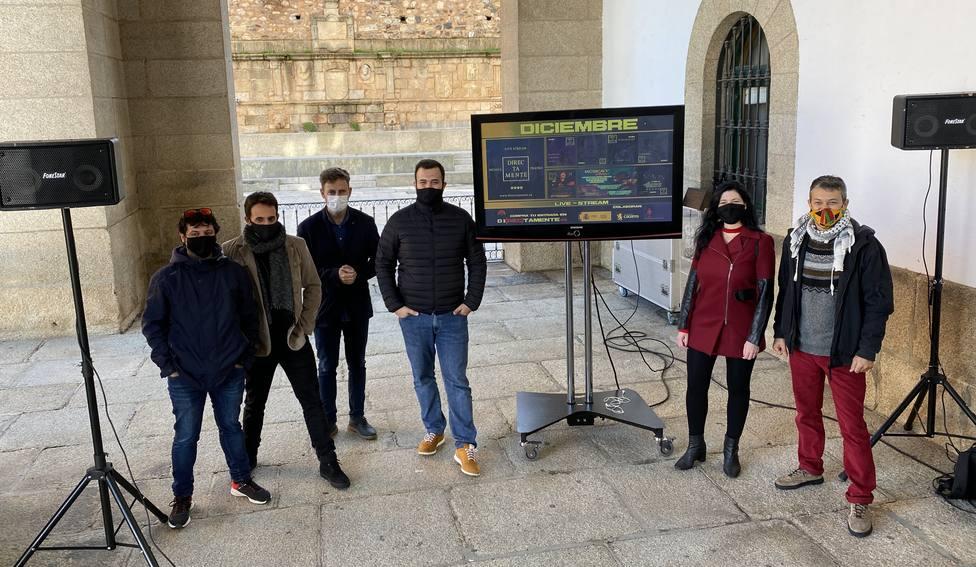 Nace en Cáceres la plataforma Directamente para emitir contenidos culturales en streaming