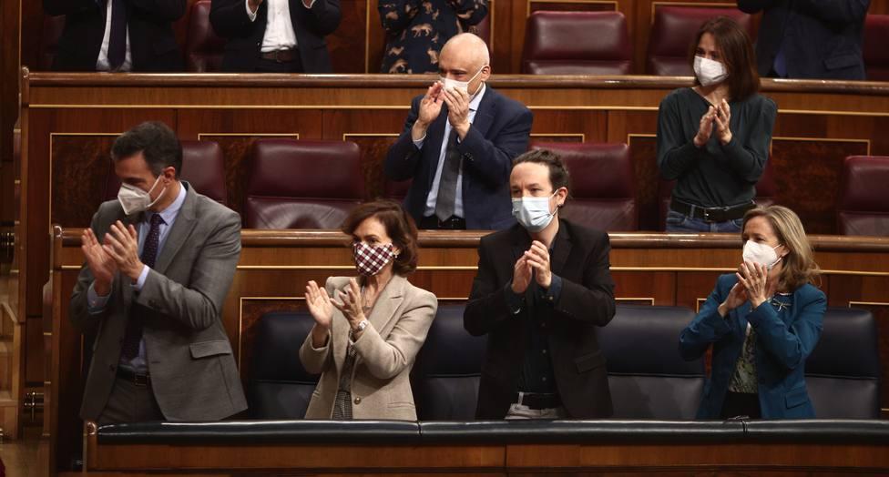 Se cumple un año de la investidura de Sánchez marcada por la pandemia de coronavirus y las tensiones internas