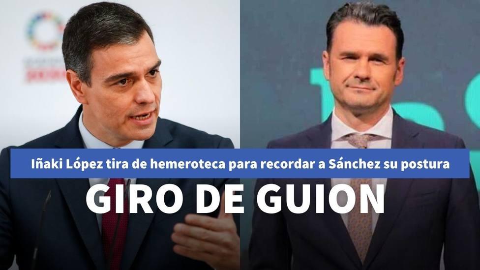 El recado de Iñaki López a Pedro Sánchez para promocionar LaSexta Noche tras la subida de la luz
