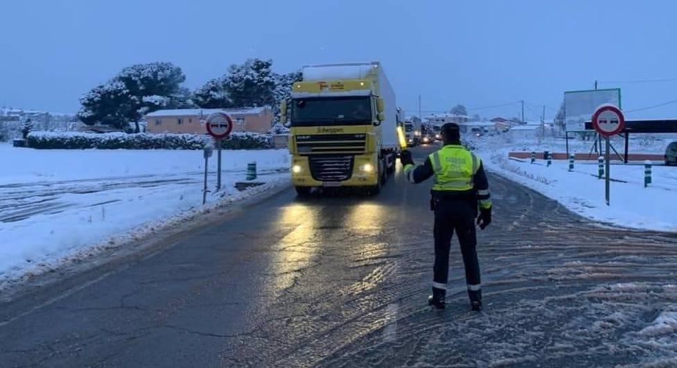 Delegación de Gobierno pide extremar la prudencia y evitar desplazamientos para visitar municipios con nieve