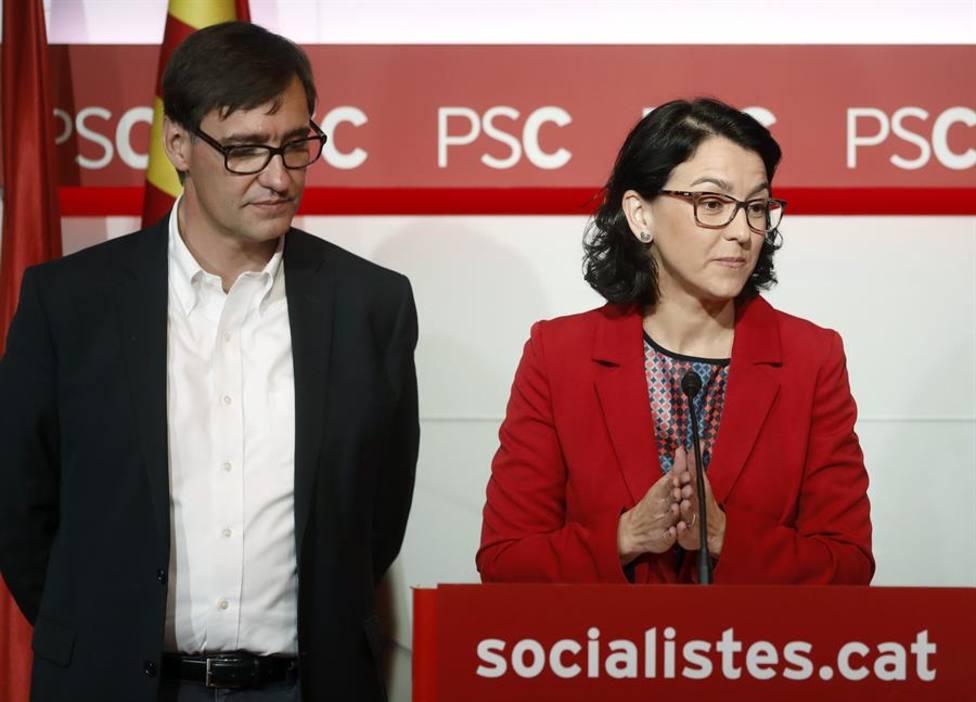 Salvador Illa y Eva Granados