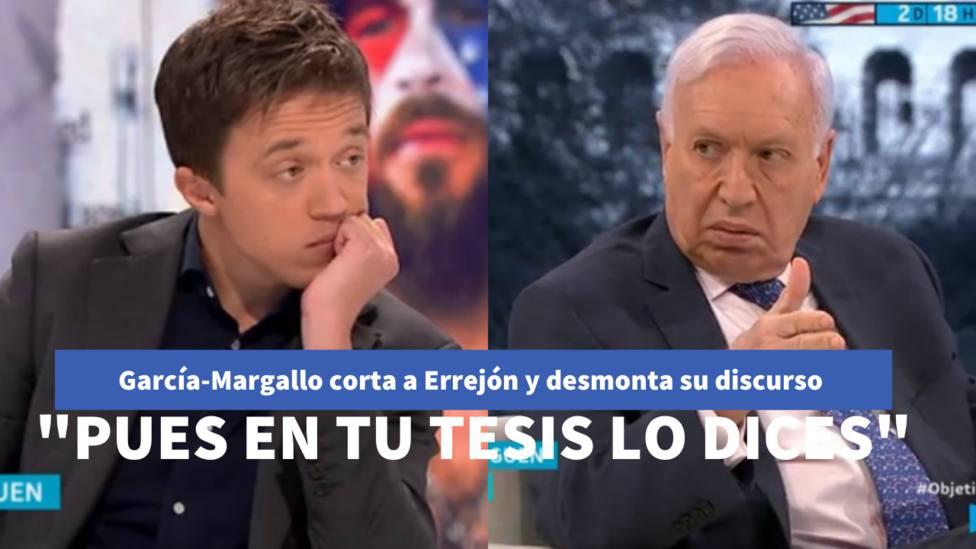 Margallo corta a Errejón y desmonta su discurso sobre el bienestar social: Pues en tu tesis lo dices