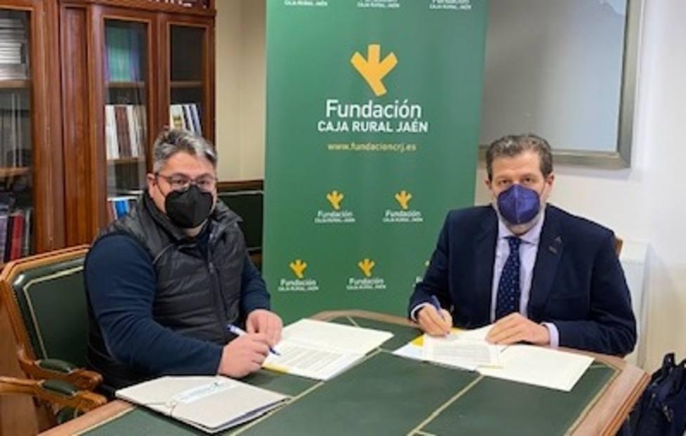 Fundación Caja Rural de Jaén y la Asociación Asperger TEA-Jaén firman un convenio de coleboración