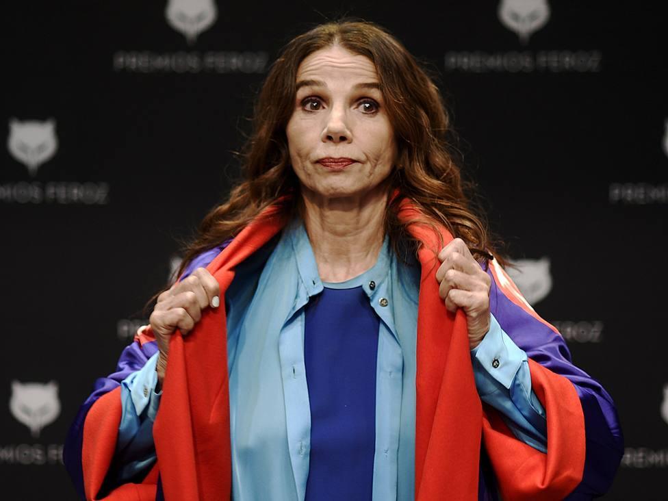 Victoria Abril se disculpa en los Premios Feroz: Siento si he ofendido a los que han perdido seres queridos