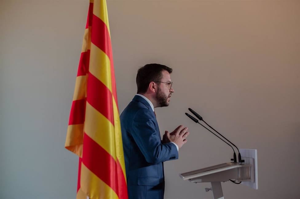 Aragonès urge a Junts, CUP y En Comú Podem a pactar y no desaprovechar la oportunidad histórica
