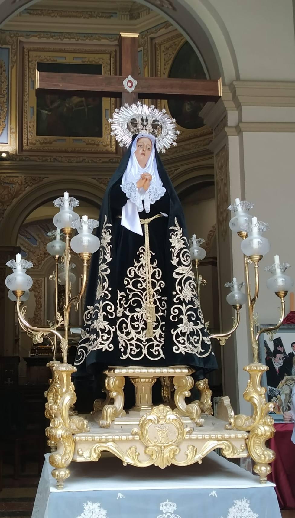Virgen de la Soledad, la Soledat dels llauradors