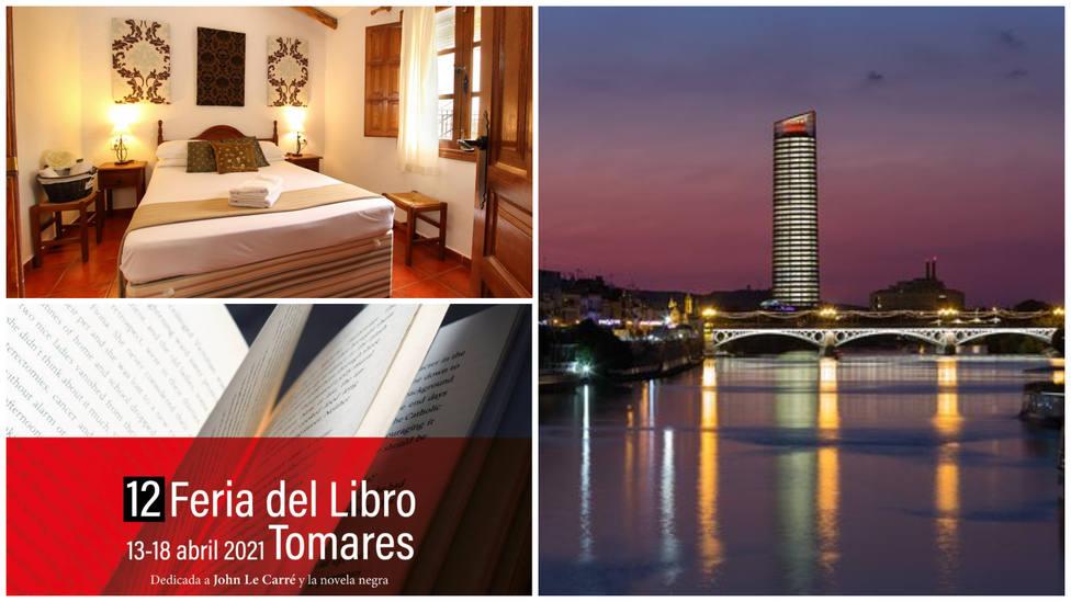 Casitas de la Sierra, Feria del Libro de Tomares y hoteles Eurostars de Andalucía