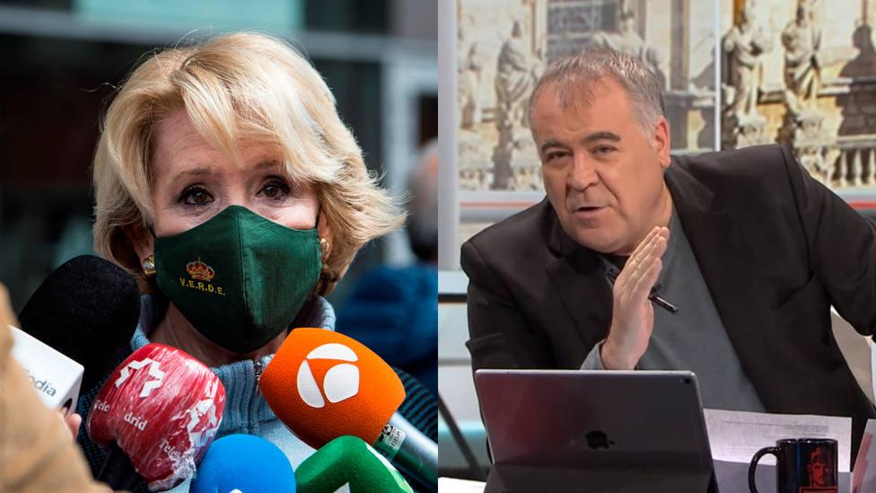 Esperanza Aguirre boicotea Al Rojo Vivo y apunta a Ferreras en pleno directo: Dile a Antonio...