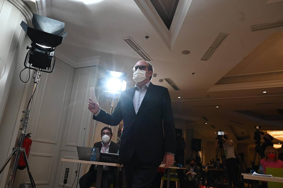 Gabilondo no recogerá su acta como diputado tras los resultados del PSOE el 4-M