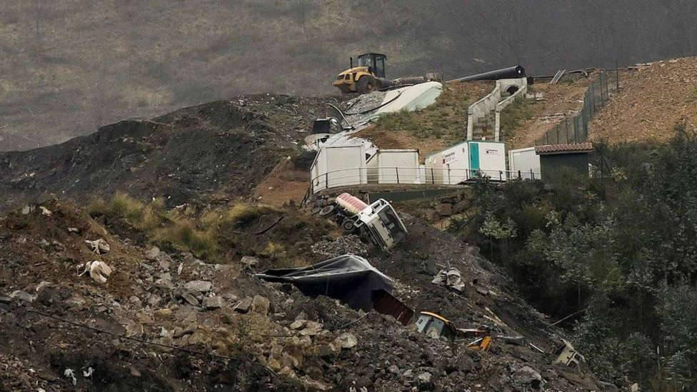 La llamada más dolorosa del lehendakari a la viuda de Joaquín Beltrán sepultado en el vertedero de Zaldibar