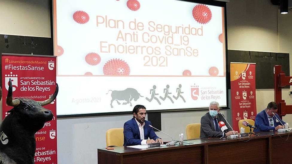 Acto de presentación del protocolo sanitario para los encierros de San Sebastián de los Reyes