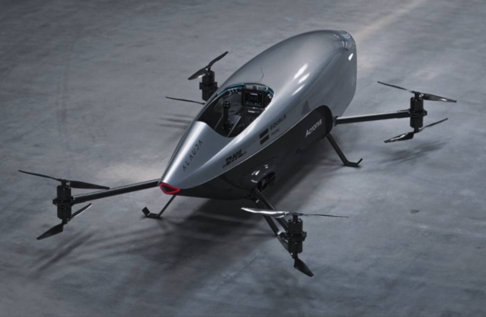 Uno de los modelos de Alauda Aeronautics