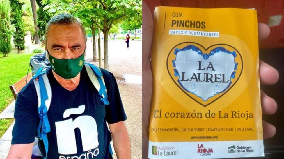 Carlos Herrera presume de La Laurel en Logroño: Indudablemente, una de las mejores calles de España