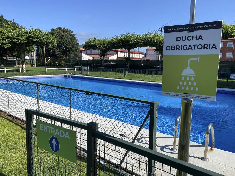 piscina municipal de A Granxa