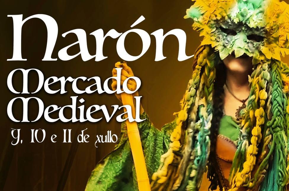 El mercado medieval de Narón se celebrará en el parque Río Freixeiro. FOTO: Concello Narón