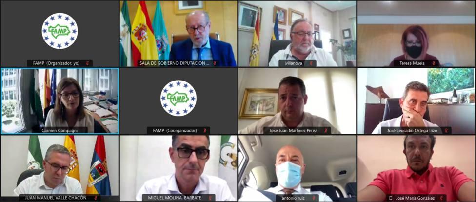 """Villalobos: """"Estamos muy cerca de conseguir el 15% de gestión directa de los fondos europeos"""