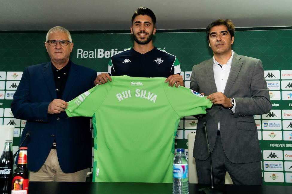 Presentación de Rui Silva con el Betis.