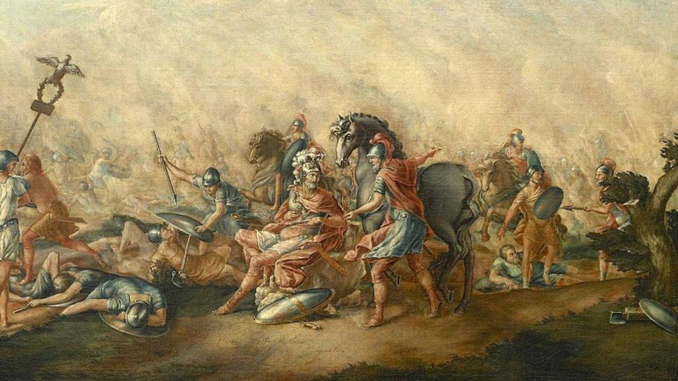 La gran mentira del Imperio Romano: ¿vestían realmente los soldados de color rojo?