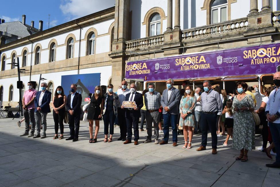 Presentación en Lugo de Saborea a túa provincia