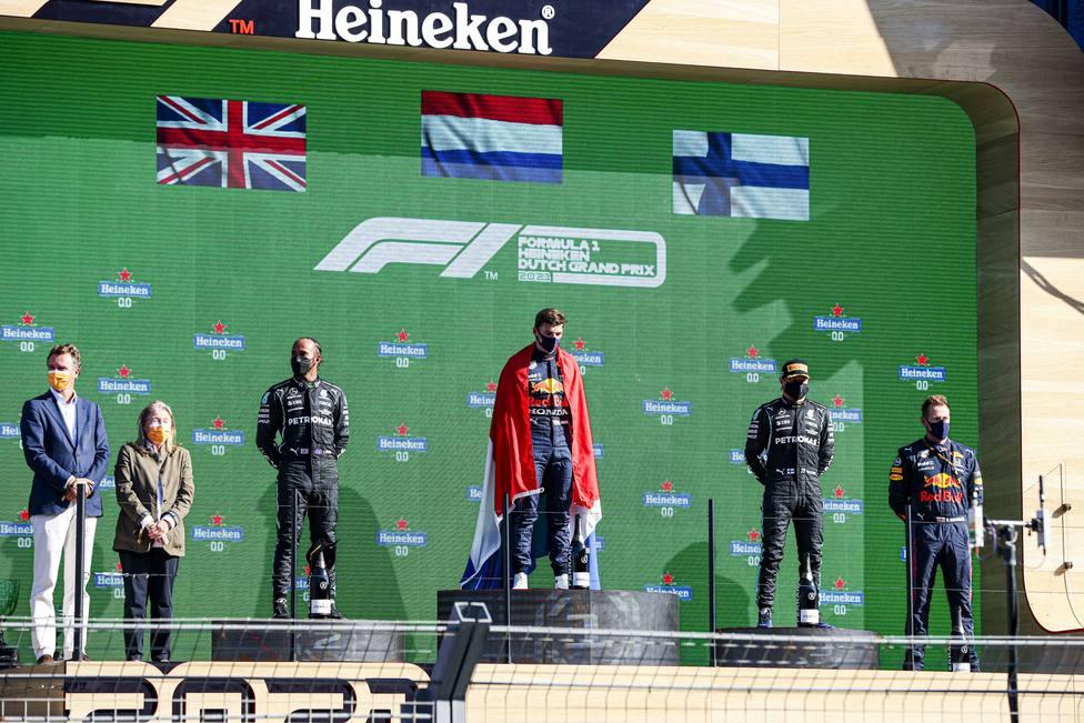 Podio GP Países Bajos