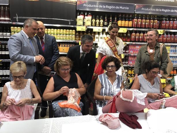 La marca Región de Murcia crece en los lineales de alimentación de los principales supermercados