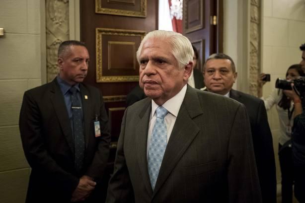 Omar Barboza, presidente de la Asamblea Nacional de Venezuela. EFE