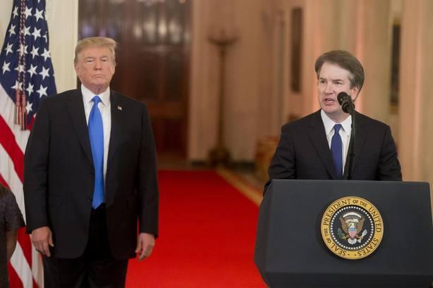 Una segunda mujer denuncia por abuso sexual al candidato de Trump al Supremo