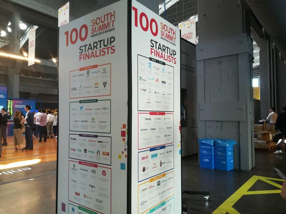 100 startup compiten en el South Summit 2018