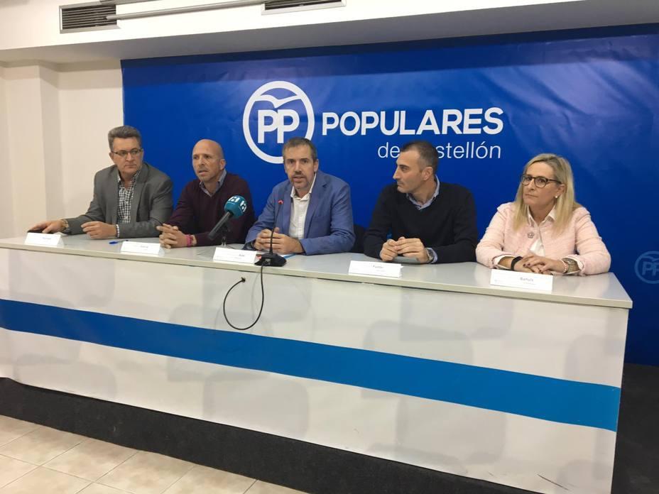 Sede del PP en Castellón