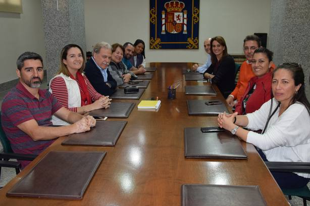 Una delegación de Costa Rica visita Melilla para extrapolar la gestión del CETI a su país