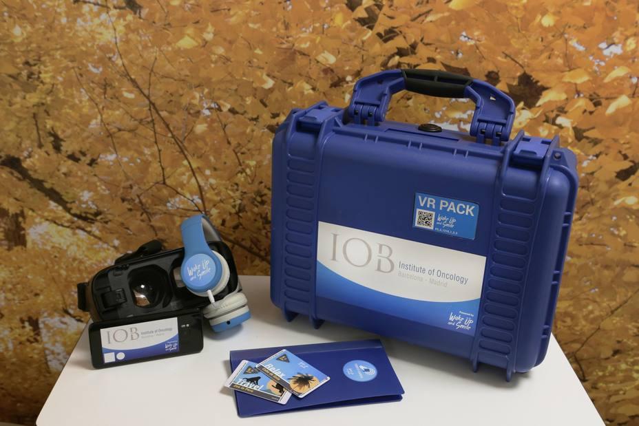 El Quirónsalud Barcelona incorpora el uso de gafas de realidad virtual para pacientes oncológicos