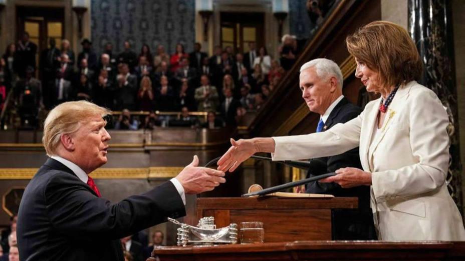 Aumenta la tensión entre Trump y los demócratas tras el discurso en el Congreso