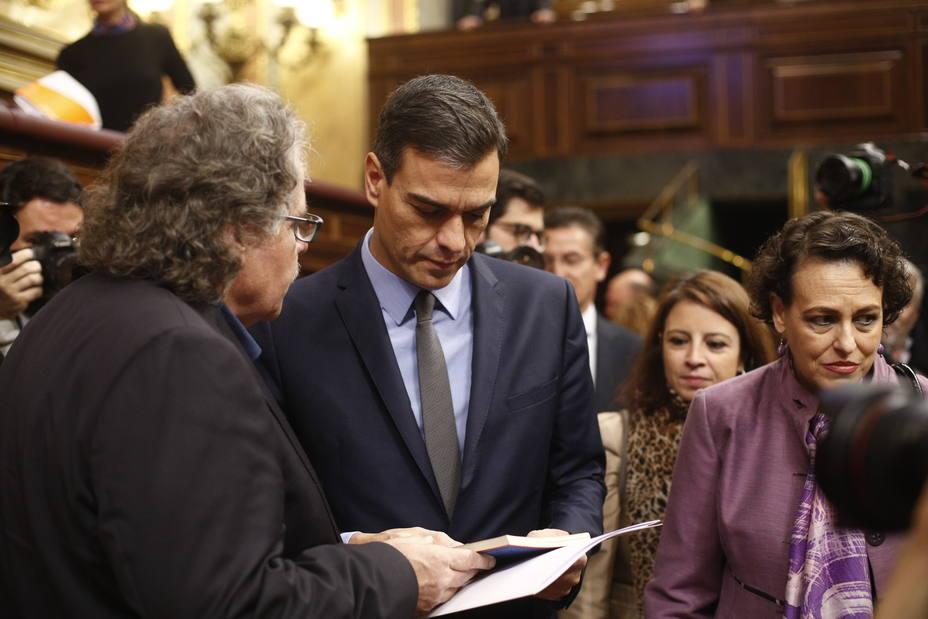 Tardà avisa a Sánchez de que comete un gran error histórico al asustarse ante el PSOE antiguo y catalanofóbico