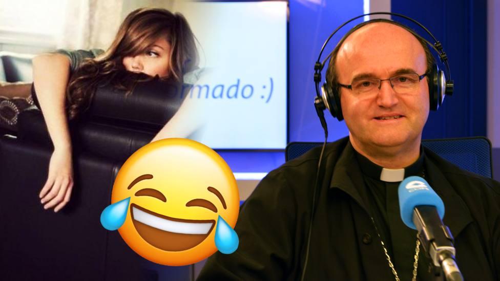 Así te invita a moverte el obispo Munilla con este gracioso meme